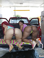 No thing greater quantity priceless to satisfy the Huge ass Craving than Pinky and Cherokee. These 2 marvelous booties go pound for pound fucking and sucking. Pinky and Cherokee with their thick booties decided to go join