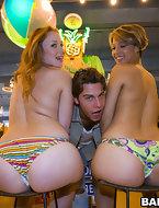Kelsey Michaels and Alina Aldamen's Lucky fat ass Shopper