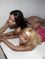 In today's feature is obese ass Cocoa & Ms. Desire. These two ladies have lots be incumbent on fat booty with an increment of hallow to make locate creme all over them.