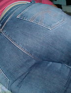 Big pest girls near jeans