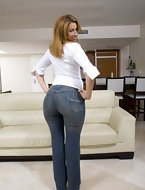 Big ass girls almost jeans