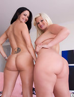 These two ladies have got crazy hot bodies to big juicy big butts.