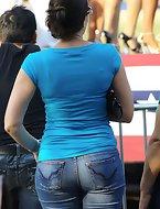 Booty girls in jeans